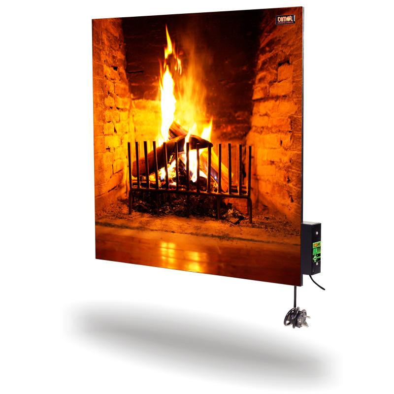 Керамическая панель DIMOL Standart 03 с терморегулятором (рисунок), 370 Вт