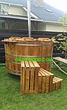 Офуро, японська лазня, фурако з термососны 43мм, фото 8