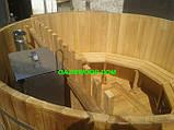 Офуро, японська лазня, фурако з термососны 43мм, фото 9