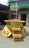 Офуро, японська лазня, фурако з термососны 43мм, фото 4