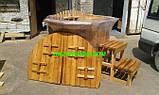 Офуро, японська лазня, фурако з термососны 43мм, фото 5