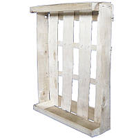 Лоток ящик Клубничный 590*380*100 мм из деревяного шпона для фруктов ягод овощей под пинетки 500 г