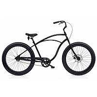 "Велосипед 26"" ELECTRA Cruiser Lux Fat Tire 1 Men's Matte Black, фото 1"