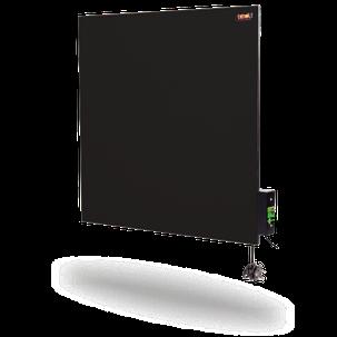 Керамическая панель DIMOL Standart 03 с терморегулятором (кремовая, графитовая), 370 Вт, фото 2