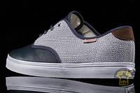 Легкие Кеды унисекс ( низкие, лёгкие ) Vans The Madero CA Sneaker in Primera Dress Blues ( тёмно-синий/серый )