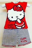 Комплект футболка и шорты  Hello Kitty 0-24 мес.