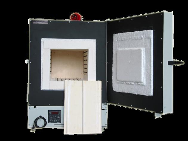 Муфельна лабораторна піч СНОЛ - 30/1300 (микропроц./кераміка), фото 2