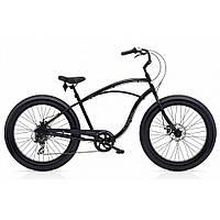 """Велосипед 26"""" ELECTRA Cruiser Lux Fat Tire 7D Men's Matte Black, фото 1"""