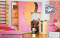 Набор мебели для детской Эколь с кроватью (БМФ) МДФ лак