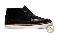 Легкие Кеды унисекс ( низкие, лёгкие ) Vans The Mesa Moc CA Boot in Black Suede ( чёрный )