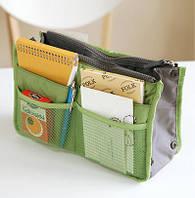 Bag in Bag - органайзер в сумку. Салатовый