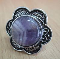 """Перстень из аметиста """"Цветок"""". www.LadyStyle.Biz"""