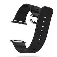 Ремешок кожаный HOCO Black для Apple Watch 38mm