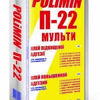 Клей для плитки, пенопласта, гранита Полимин П-22