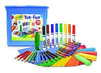 Набор для творчества Crayola 75 предметов Art Tub of Fun