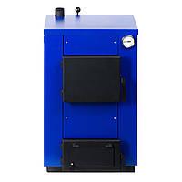 Котел твердотопливный MaxiTerm 12 (12 кВт, 100 м.кв., стенка 3 мм), фото 1