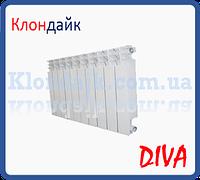 Радиатор биметаллический Diva 500х100