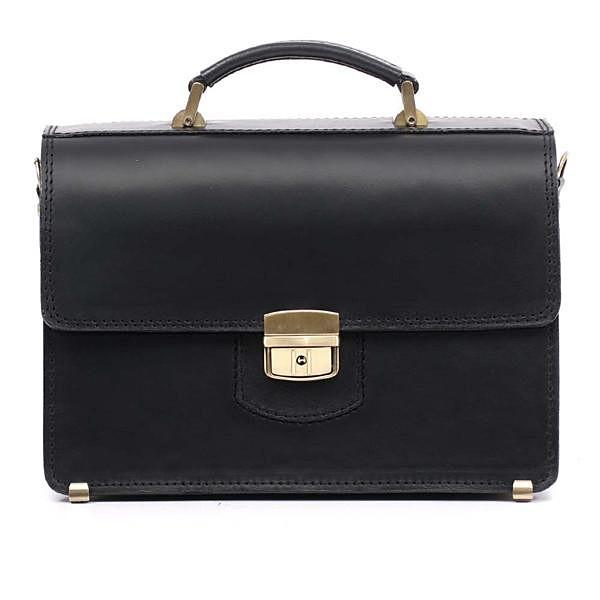 Кожаный мужской портфель ПМ-2