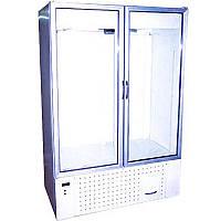 Холодильный шкаф со стеклянными дверями Айстермо ШХС-1.2 (0...+8°С, 1400х700х2000 мм)