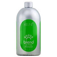 Шампунь для кудрявых волос «Контроль» Keune Blend De-Frizz Shampoo 1000мл