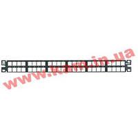 Патч-панель Net-Key плоска, 48 портів в 1 U, Panduit NetKey (NKPP48HDY)