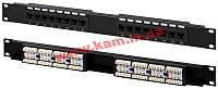 Патч-панель EPNew (6PLH-160BK)