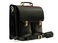 Кожаный мужской портфель ПДВ-2