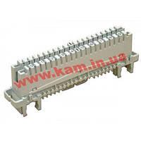 Плинт KRONE 6089 1 121-06 LSA-PROFIL 2/ 10 с нормально-замкнутыми контактами, маркир (6089 1 121-06)