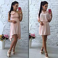 Женское популярное платье-трансформер (расцветки)