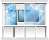 Остекление балконов (профиль WDS)