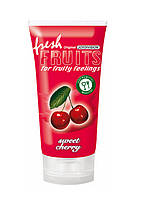 Лубрикант со вкусом вишни, freshFRUITS «Sweet Cherry», 150 мл
