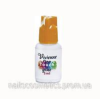 Клей Vivienne One Touch(гиппоаллергенный, супер быстрая фиксация, эластичный) 5g