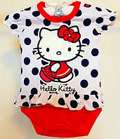 Боди - футболка с принтом Hello Kitty 0-24 мес.