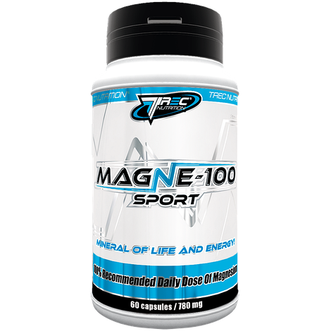 Магний MAGNE-100 Sport - 60 капсул
