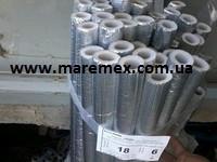 Утеплитель для труб Мерилон 35/6 фольгированный  - фото