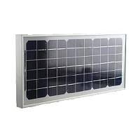 Монокристалическая солнечная панель (батарея) Kvazar KV10M-12 10Вт
