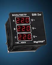 Вольтметр  ВМ-3М (DigiTOP)