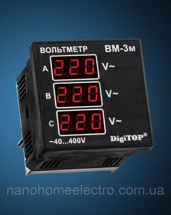 Вольметр  ВМ-3М (DigiTOP) - NanohomeElectro в Днепре