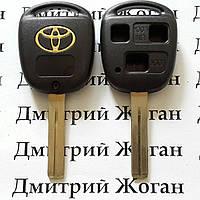 Корпус для ключа TOYOTA (Тойота) 3 - кнопки, лезвие TOY48