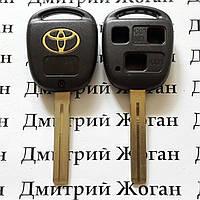 Корпус ключа для TOYOTA (Тойота) 3 кнопки , лезвие TOY 40