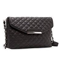 Женская сумка клатч Mango стеганая черного цвета, фото 1