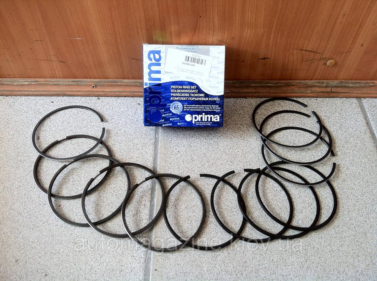 Кільця поршневі Газель, Волга, УАЗ 405, 409 (95,5 мм, 96,0 мм, 96,5 мм)