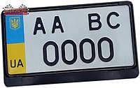 Рамка квадратная для номерного знака США ✓ 1шт.