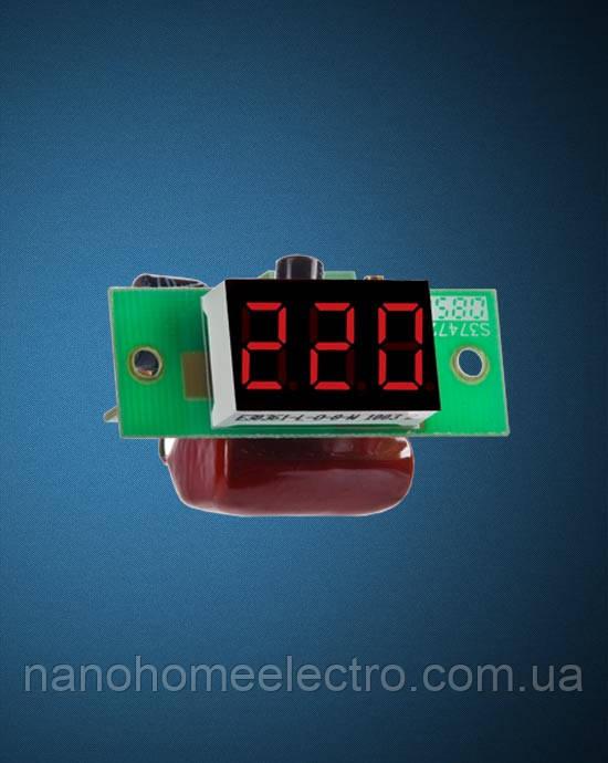 Вольтметр постоянного тока ВМ-19/1 без корпуса (DigiTOP) - NanohomeElectro в Днепре