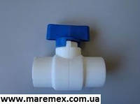 Кран шаровый 25 мини (60шт) blue - Kalde