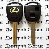 Корпус для ключа LEXUS (Лексус)  2 - кнопки, лезвие  TOY40