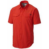 Мужская сорочка Columbia SILVER RIDGE™ SHORT SLEEVE SHIRT терракотовая