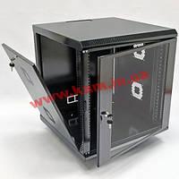 Шкаф 12U, 620х600х640 мм (Ш*Г*В), акриловое стекло, черный (UA-MGSWA126B)