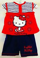 Комплект футболка и шорты для девочки  Hello Kitty 0-24 мес.