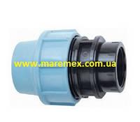 Муфта соединительная с внутренней резьбой (ВР) 40х6/4 (100) - Santehplast